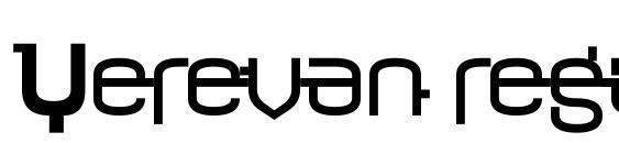 Yerevan regular Font
