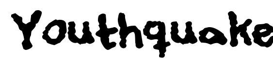 Youthquake Font, Sans Serif Fonts