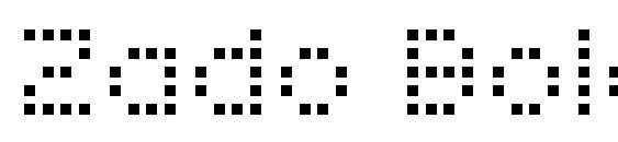Zado Bold Font