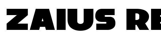 Шрифт Zaius Regular, Шрифты без засечек