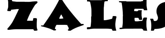 Шрифт Zaleski Wd Bold, Милые шрифты