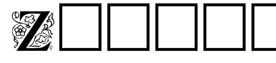 ZallmanCaps Font, Retro Fonts