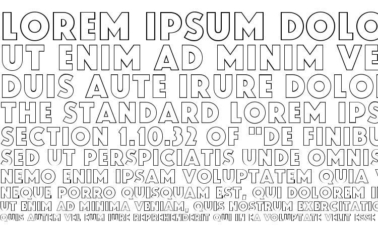 specimens Zamenhof Outline font, sample Zamenhof Outline font, an example of writing Zamenhof Outline font, review Zamenhof Outline font, preview Zamenhof Outline font, Zamenhof Outline font