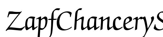 ZapfChanceryStd Roman Font, Elegant Fonts