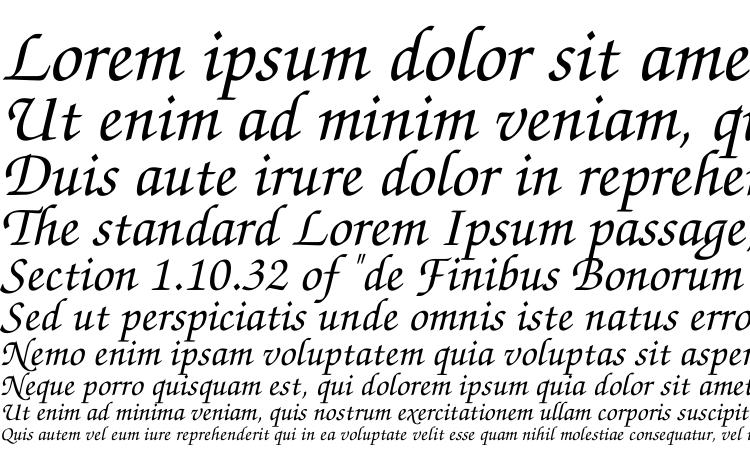 specimens ZapfChanceryTT Italic font, sample ZapfChanceryTT Italic font, an example of writing ZapfChanceryTT Italic font, review ZapfChanceryTT Italic font, preview ZapfChanceryTT Italic font, ZapfChanceryTT Italic font