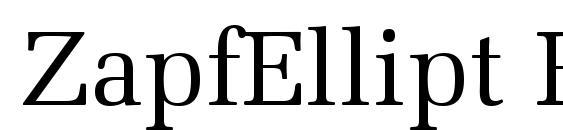 ZapfEllipt BT Roman Font