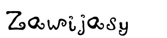Zawijasy Font, Fun Fonts