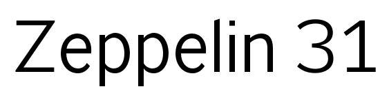 Zeppelin 31 Font, Handwriting Fonts