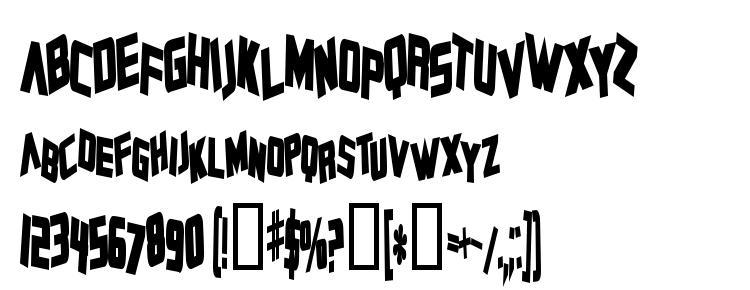 glyphs Zero Gravity Bold font, сharacters Zero Gravity Bold font, symbols Zero Gravity Bold font, character map Zero Gravity Bold font, preview Zero Gravity Bold font, abc Zero Gravity Bold font, Zero Gravity Bold font