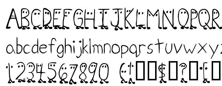 glyphs Zhang QA font, сharacters Zhang QA font, symbols Zhang QA font, character map Zhang QA font, preview Zhang QA font, abc Zhang QA font, Zhang QA font