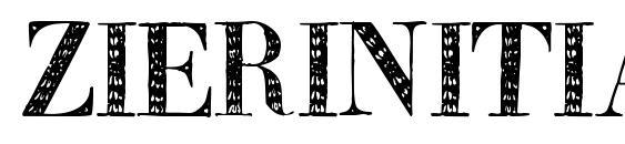Zierinitialen2 Font
