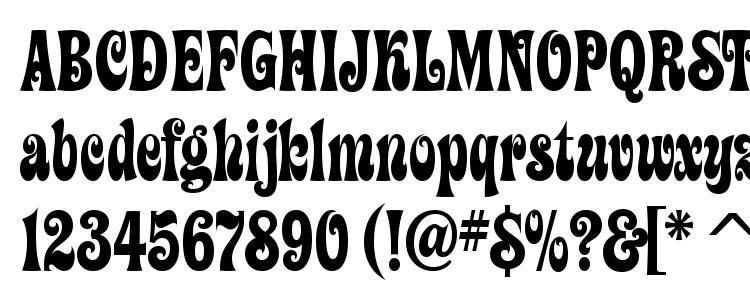 glyphs ZiggyITC TT font, сharacters ZiggyITC TT font, symbols ZiggyITC TT font, character map ZiggyITC TT font, preview ZiggyITC TT font, abc ZiggyITC TT font, ZiggyITC TT font