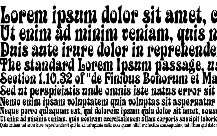 specimens ZiggyITC TT font, sample ZiggyITC TT font, an example of writing ZiggyITC TT font, review ZiggyITC TT font, preview ZiggyITC TT font, ZiggyITC TT font