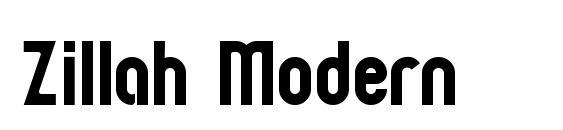 Zillah Modern Font