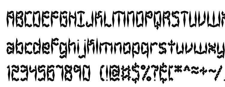 glyphs Zirconia BRK font, сharacters Zirconia BRK font, symbols Zirconia BRK font, character map Zirconia BRK font, preview Zirconia BRK font, abc Zirconia BRK font, Zirconia BRK font