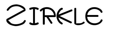 Zirkle Font