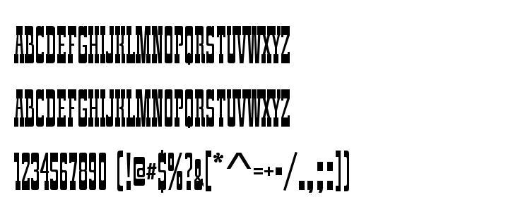 glyphs ZirkusComD font, сharacters ZirkusComD font, symbols ZirkusComD font, character map ZirkusComD font, preview ZirkusComD font, abc ZirkusComD font, ZirkusComD font