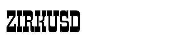 ZirkusD Font