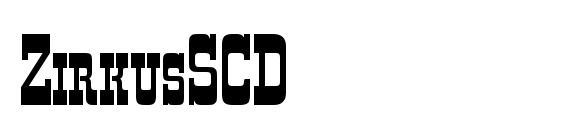 ZirkusSCD Font