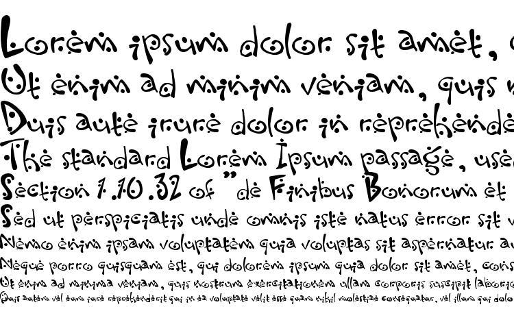 specimens Zitcream font, sample Zitcream font, an example of writing Zitcream font, review Zitcream font, preview Zitcream font, Zitcream font