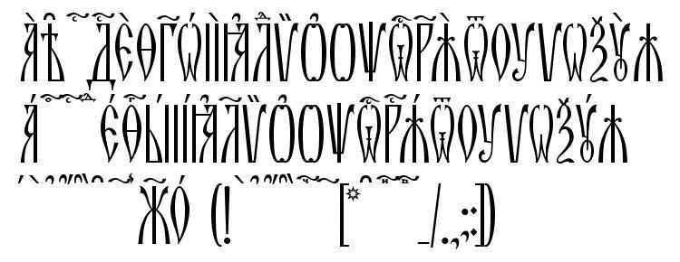 glyphs Zlatoust kUcs font, сharacters Zlatoust kUcs font, symbols Zlatoust kUcs font, character map Zlatoust kUcs font, preview Zlatoust kUcs font, abc Zlatoust kUcs font, Zlatoust kUcs font