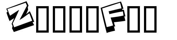 ZoinkFat Font, Retro Fonts