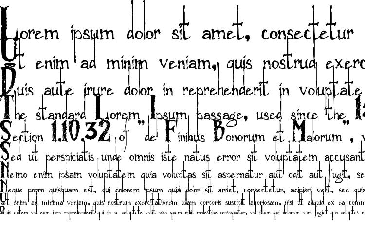 specimens Zombified font, sample Zombified font, an example of writing Zombified font, review Zombified font, preview Zombified font, Zombified font