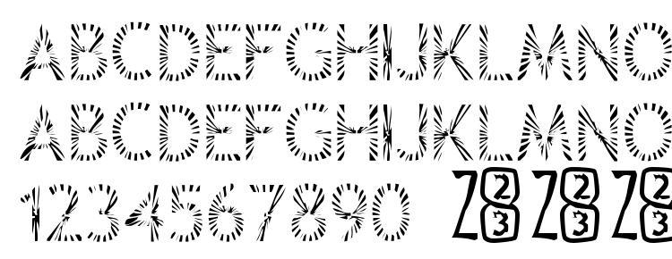 glyphs Zone23 Rayz font, сharacters Zone23 Rayz font, symbols Zone23 Rayz font, character map Zone23 Rayz font, preview Zone23 Rayz font, abc Zone23 Rayz font, Zone23 Rayz font