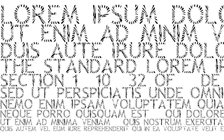 specimens Zone23 Rayz font, sample Zone23 Rayz font, an example of writing Zone23 Rayz font, review Zone23 Rayz font, preview Zone23 Rayz font, Zone23 Rayz font