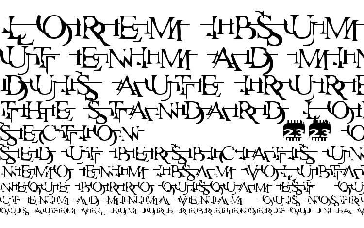 specimens Zone23 zazen matrix font, sample Zone23 zazen matrix font, an example of writing Zone23 zazen matrix font, review Zone23 zazen matrix font, preview Zone23 zazen matrix font, Zone23 zazen matrix font