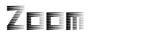 Zoom Font
