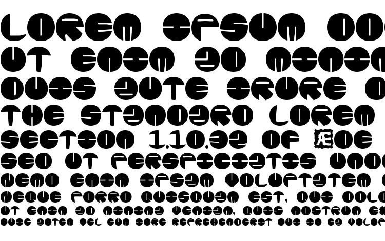 specimens Zurklez Solid BRK font, sample Zurklez Solid BRK font, an example of writing Zurklez Solid BRK font, review Zurklez Solid BRK font, preview Zurklez Solid BRK font, Zurklez Solid BRK font