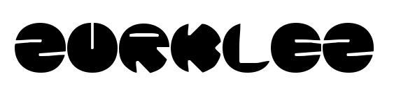 Zurklez Solid BRK font, free Zurklez Solid BRK font, preview Zurklez Solid BRK font
