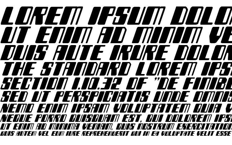 specimens Zyborgs Italic font, sample Zyborgs Italic font, an example of writing Zyborgs Italic font, review Zyborgs Italic font, preview Zyborgs Italic font, Zyborgs Italic font